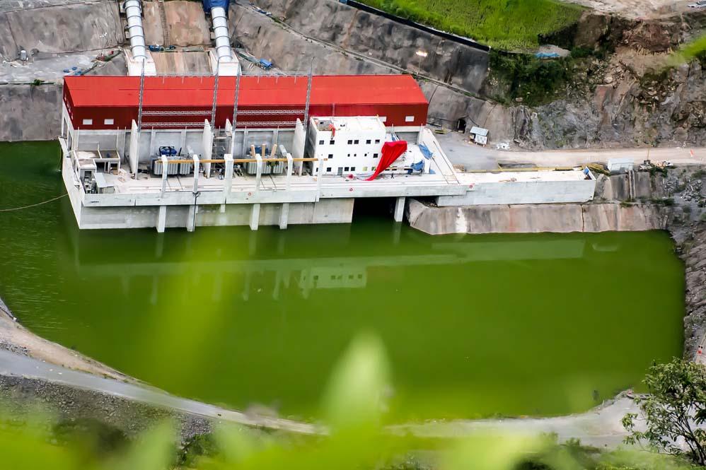 hydroelectric power station chaglla