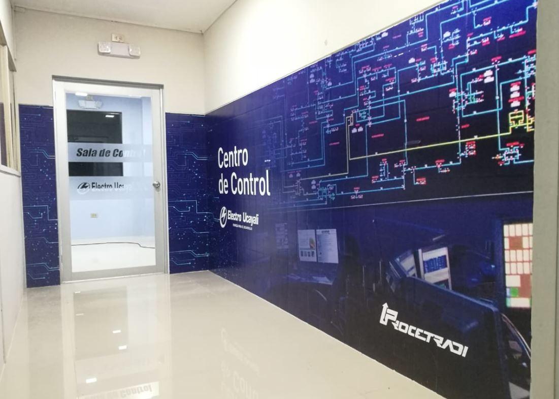 control room electro ucayali procetradi